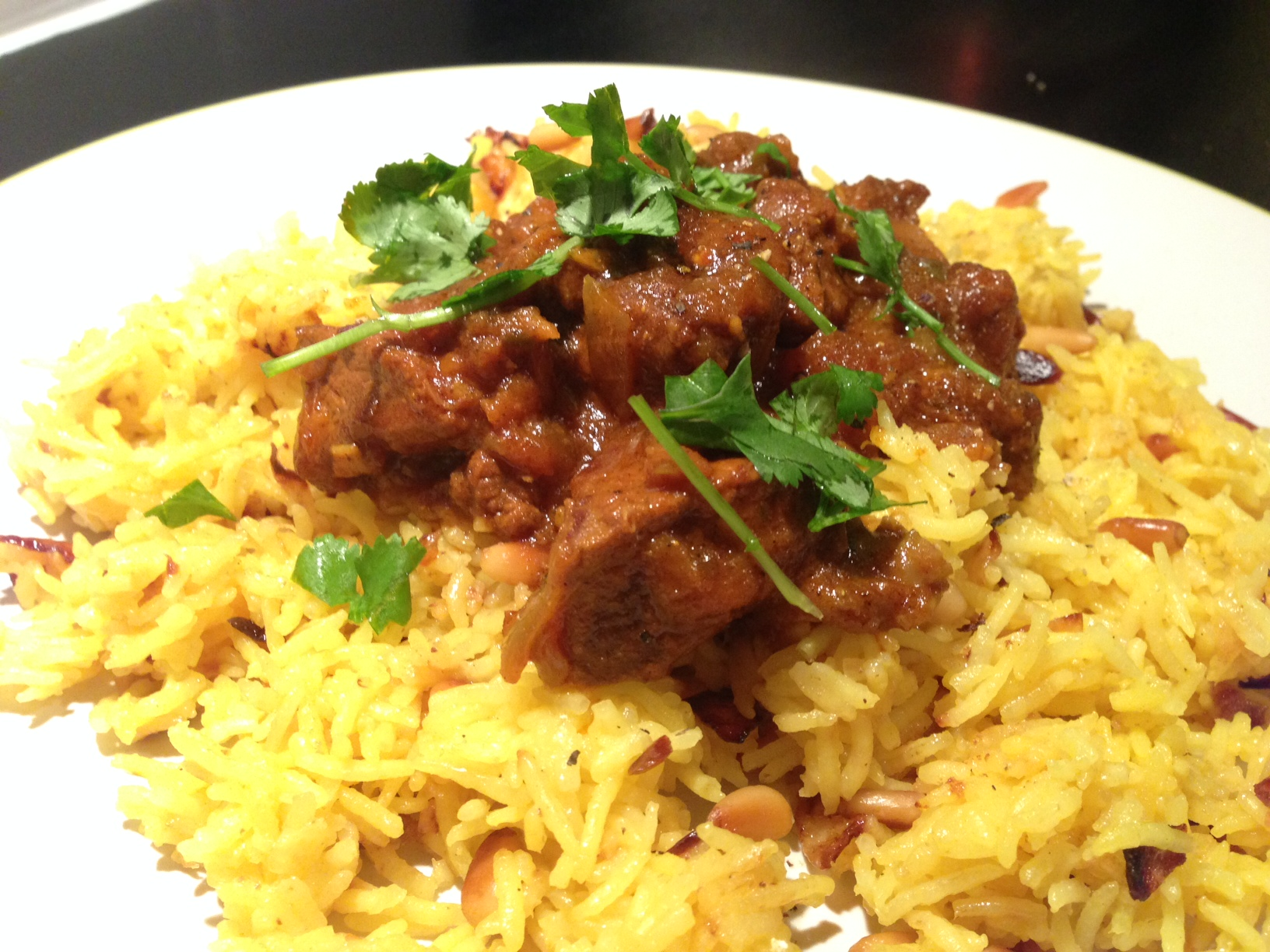 Curried goat 5