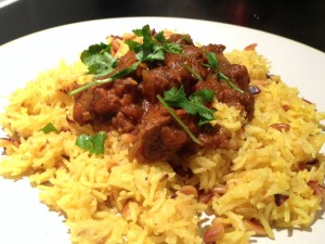 Curried goat 6