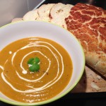 Carrot & Corriander Soup 4.